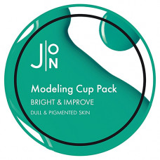 J:on Bright & improve modeling pack, 18мл Маска альгинатная яркость и совершенство