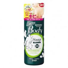Sana Body refining shampoo, 300мл Шампунь для проблемной кожи тела с ароматом свежих трав