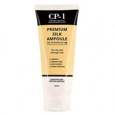 Esthetic House CP-1 Premium silk ampoule, 150мл Сыворотка несмываемая для волос с протеинами шелка