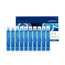 FarmStay Collagen water full moist treatment hair filler, 10шт*13мл Филлер для волос с коллагеном