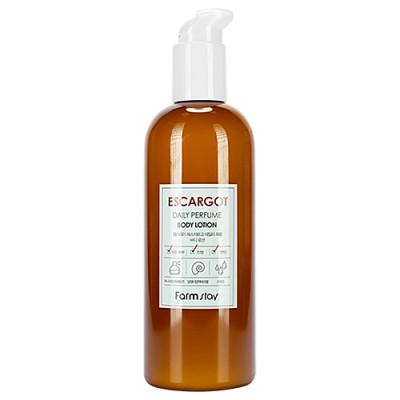FarmStay Daily perfume body lotion, 330мл Лосьон для тела муцин улитки