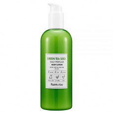 FarmStay Daily perfume body lotion, 330мл Лосьон для тела зеленый чай
