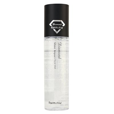 FarmStay Diamond shine impact pearl mist, 150мл Мист увлажняющий с эффектом сияния