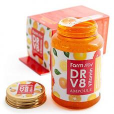 FarmStay Dr-V8 Vitamin ampoule, 250мл Сыворотка ампульная с витаминным комплексом