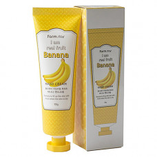 FarmStay I am real fruit banana hand cream, 90мл Крем для рук с экстрактом банана