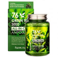 FarmStay Green tea seed all-In-one ampoule, 250мл Сыворотка многофункциональная с зеленым чаем