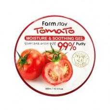 FarmStay Tomato moisture soothing gel, 300мл Гель успокаивающий с экстрактом томата