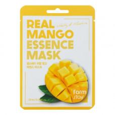 FarmStay Real mango essence mask, 23мл Маска тканевая для лица с экстрактом манго