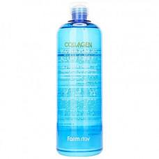 FarmStay Collagen water full moist all day toner, 500мл Тонер укрепляющий с коллагеном
