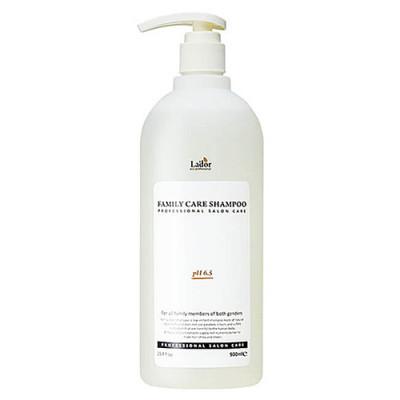 Lador Family care shampoo, 900мл Шампунь для волос без силиконов и и парабенов