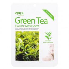 La Miso Green tea essence mask sheet, 21г Маска с экстрактом зеленого чая