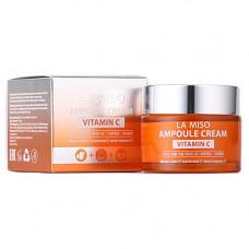 La Miso Ampoule сream vitamin C, 50мл Крем ампульный с витамином С
