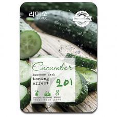 La Miso Cucumber essence mask sheet, 23г Маска с экстрактом огурца