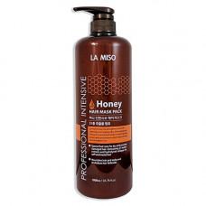 La Miso Professional intensive honey, 1000мл Маска для волос с медом