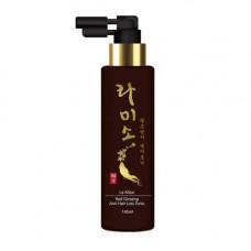 La Miso Red ginseng anti hair loss tonic, 145мл Тоник против выпадения волос с экстрактом женьшеня