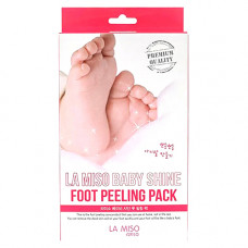 La Miso Baby shine, 40г Пилинг носочки для ног