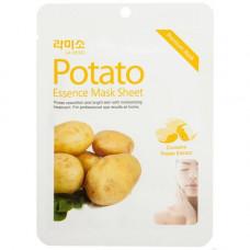 La Miso Potato essence mask sheet, 21г Маска с экстрактом картофеля