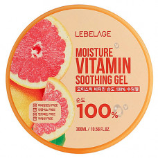 Lebelage Moisture vitamin soothing gel, 300мл Гель увлажняющий успокаивающий с витаминами