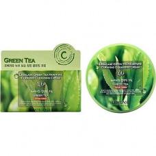 Lebelage Green tea moisture cream, 300мл Крем для снятия макияжа с зеленым чаем