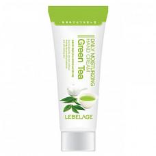 Lebelage Daily moisturizing green tea hand cream, 100мл Крем для рук с зеленым чаем