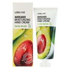 Lebelage Avocado moisturizing hand cream, 100мл Крем для рук увлажняющий с авокадо