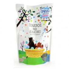 MAX Uruoi no sachi body soap, 400мл Мыло для тела жидкое с ароматом персика