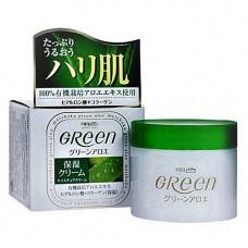 Meishoku Green plus aloe moisture cream, 48г Крем увлажняющий для сухой кожи лица