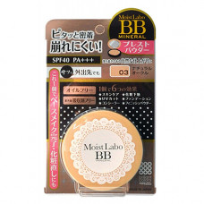 Meishoku Moisto-labo bb mineral powder, 15г Пудра компактная минеральная(тон3,нат. охра)