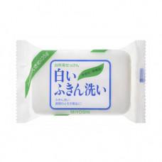 Miyoshi Laundry soap bar, 135г Мыло для стирки отбеливающее