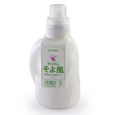 Miyoshi Additive free laundry liquid soap, 1100мл Средство для стирки жидкое легкий ветерок