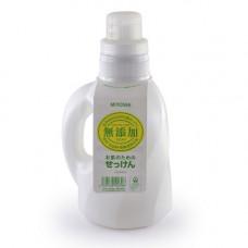 Miyoshi Additive free laundry liquid soap, 1100м Средство для стирки жидкое для изделий из хлопка