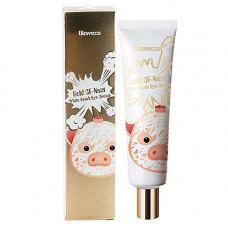 Elizavecca Gold Cf nest white bomb eye cream, 30мл Крем для глаз с экстрактом ласточкиного гнезда