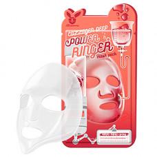 Elizavecca Collagen deep power ringer mask pack, 23мл Маска тканевая для лица с коллагеном