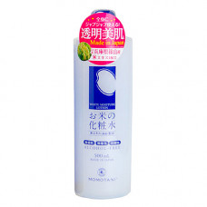 Momotani Rice moisture lotion, 500мл Лосьон увлажняющий с экстрактом риса