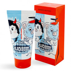 Elizavecca Hell-Pore bubble blackboom pore pack, 150мл Маска для очищения пор кислородная