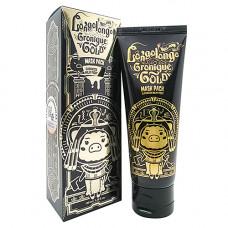Elizavecca Hell-Pore longolongo gronique gold mask pack, 100мл Маска пленка золотая