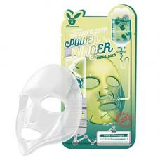 Elizavecca Centella asiatica deep power ring mask pack, 23мл Маска тканевая для лица с центеллой