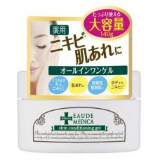 Momotani Eaude skin conditioning gel , 140г Гель–кондиционер для ухода за проблемной кожей лица
