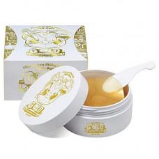 Elizavecca Milky piggy hell-pore gold hyaluronic acid, 60шт Патчи для глаз золото и гиалур.кислота