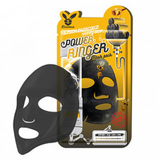 Elizavecca Black сharcoal honey deep power mask, 23мл Маска тканевая с древесным углем и медом