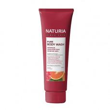Naturia Pure body wash cranberry& orange, 100мл Гель для душа клюква/апельсин