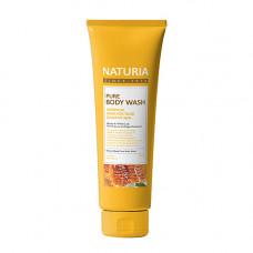 Naturia Pure body wash honey & white lily, 100мл Гель для душа мед/лилия