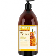 Naturia Pure body wash honey & white lily, 750мл Гель для душа мед/лилия